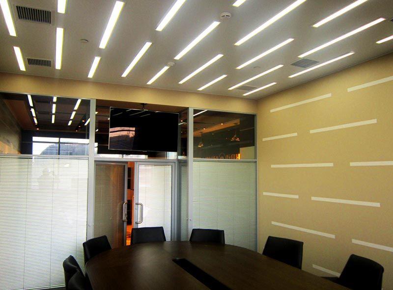 Освещение для офисного помещения