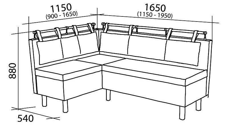 Размеры гарнитура стоит продумать заранее, особенно если конструкция выполняется на заказ