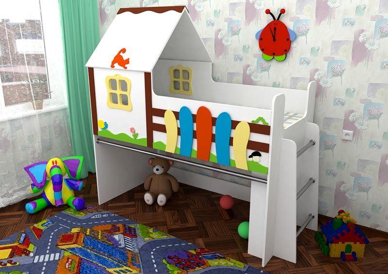 Кровать домик спб дешево