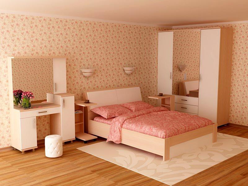 Столик является частью спального комплекта