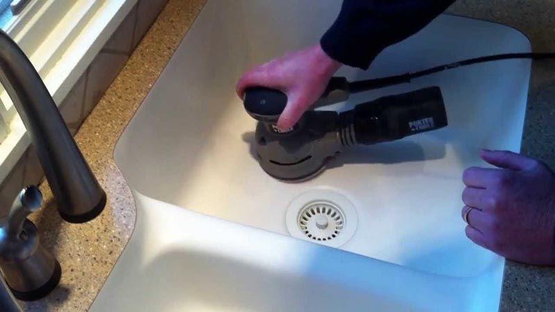 Ремонтопригодность каменной раковины на кухне– еще один позитивный фактор