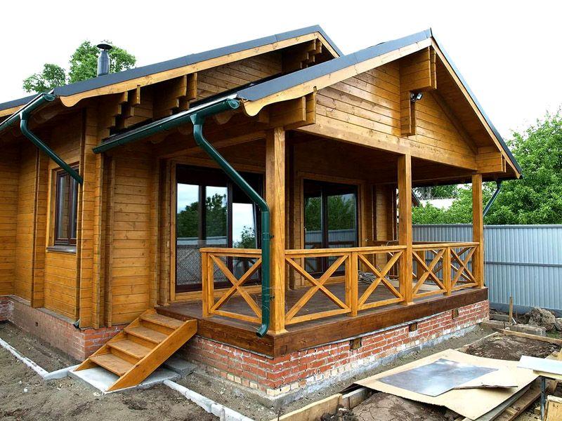 запросу терраса к деревянному дому проекты фото нем уголки дикой