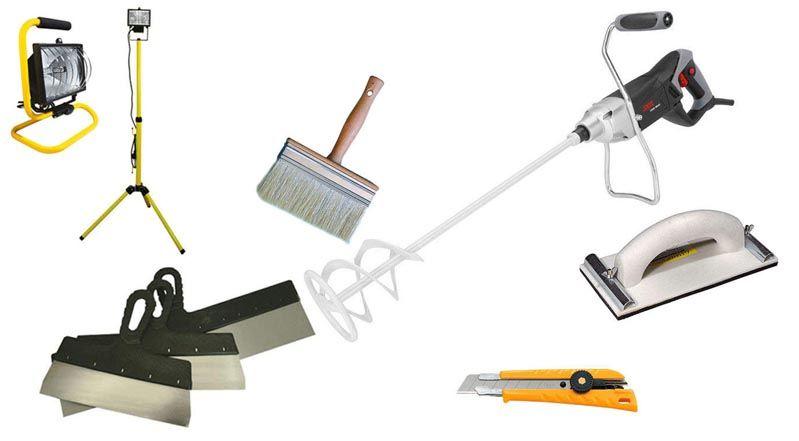 Необходимый инструмент штукатура – без него никуда