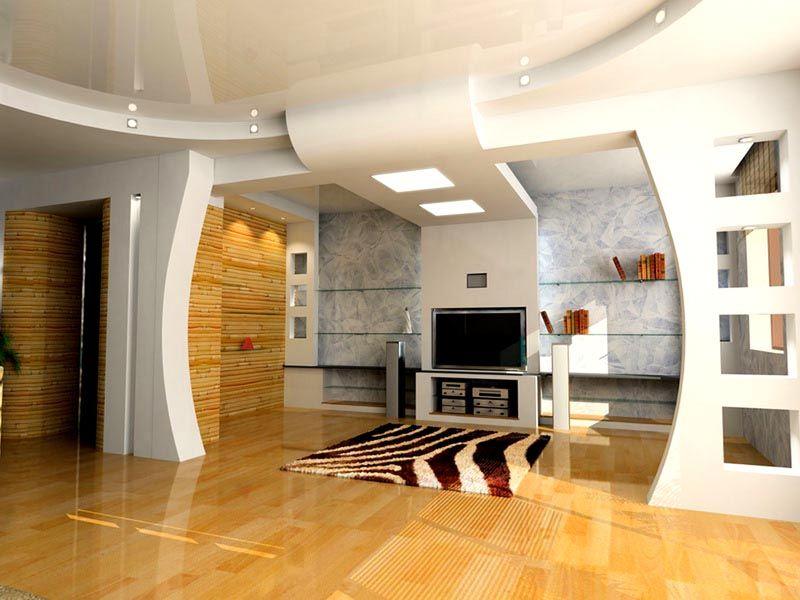 ГКЛ позволяет выполнить разделение пространства на комфортные зоны