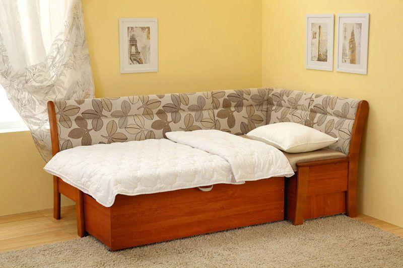 Вариант со спальным местом может быть очень вместительным