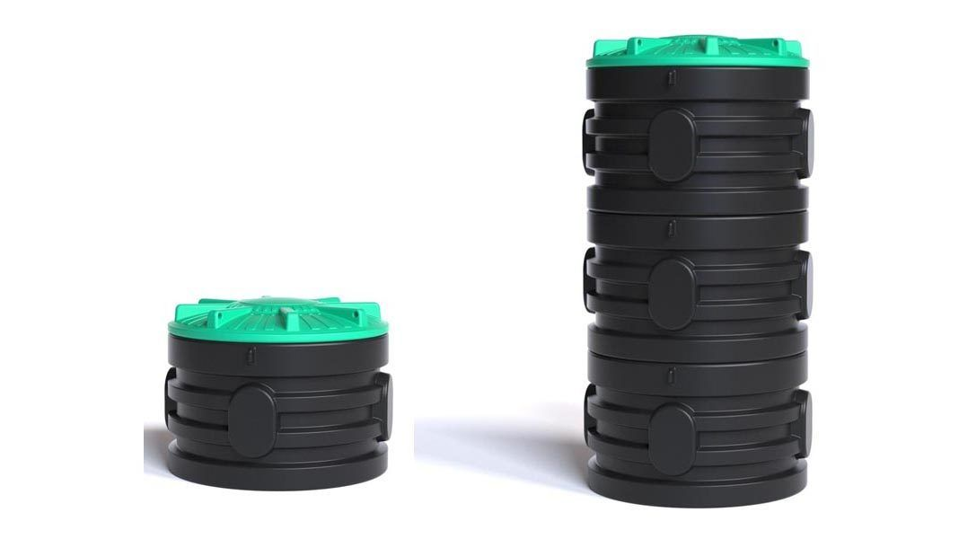 Кольца колодезные пластиковые