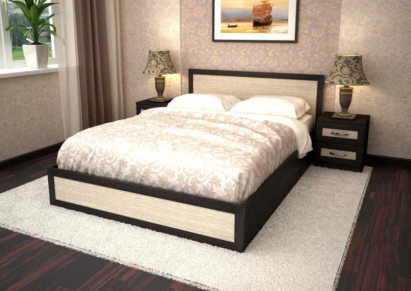 Кровать из ламинированной ДСП
