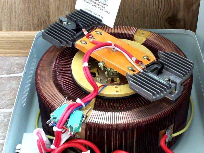 Изнутри сервоприводный прибор выглядит именно так