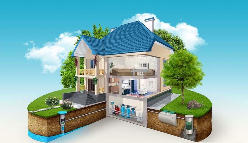Многие компании предлагают проведение системы водоснабжения от колодца к любой постройке