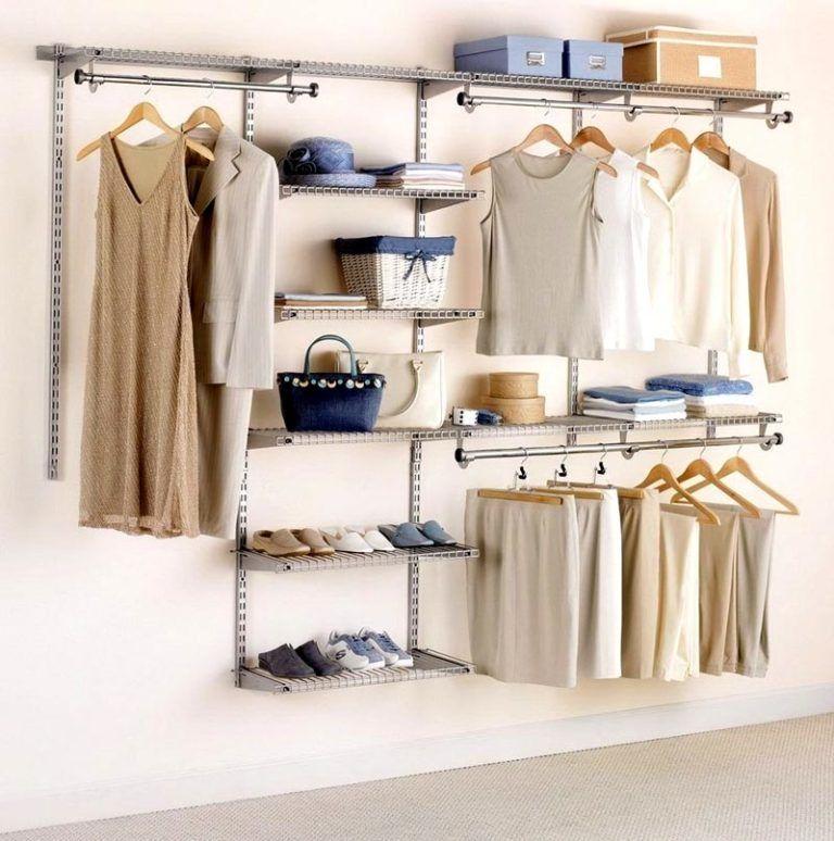 Системы хранения вещей для гардеробной: виды, модели, фото.