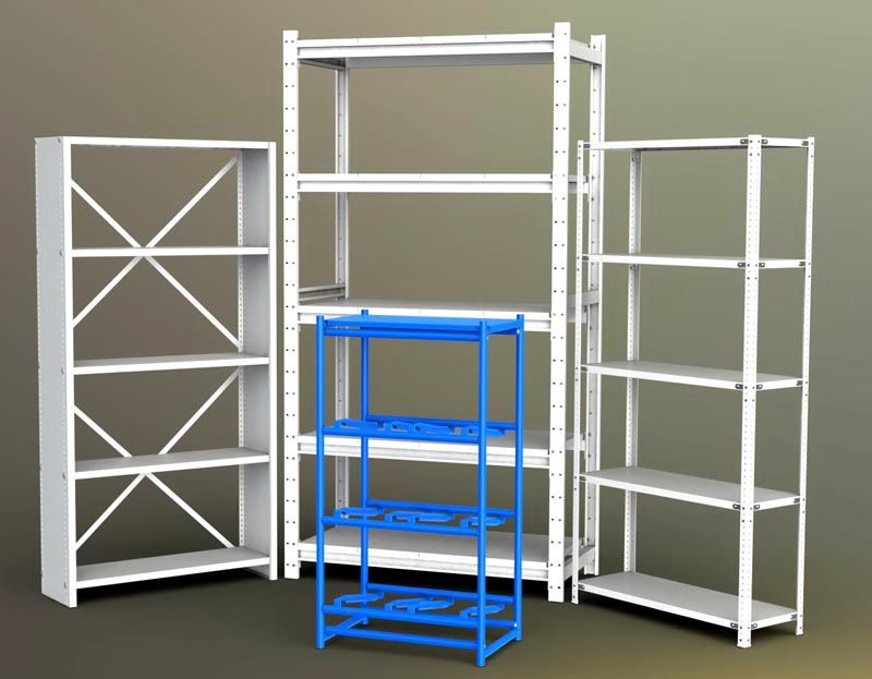 Количество секций и высоту полок каждый выбирает сам