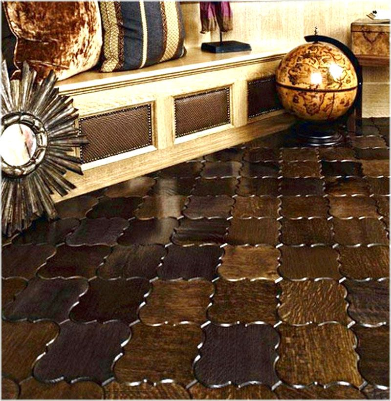 Ceramic tile wood look