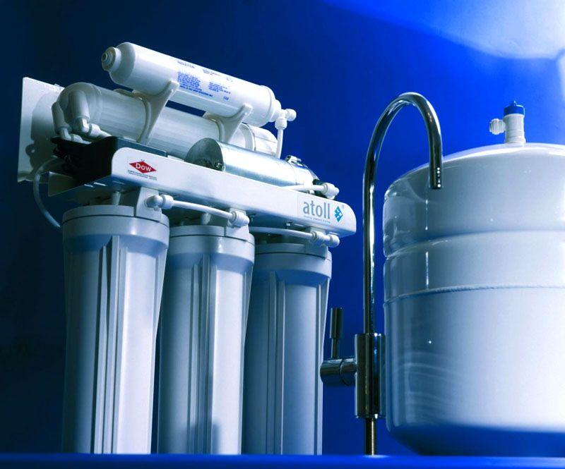 Магистральный фильтр устанавливается на водопроводную трубу и производит очистку входящего потока