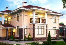 Планы двухэтажных домов