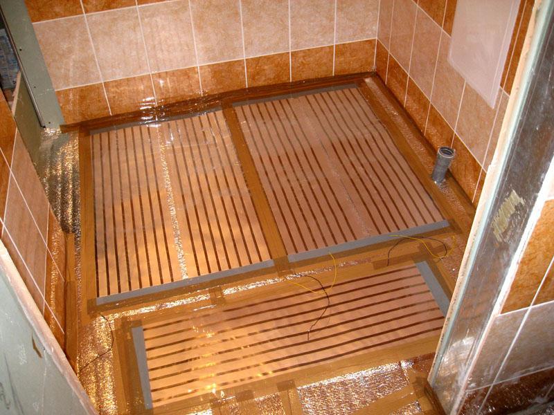 Теплый пол полностью безопасен и может использоваться в помещениях с умеренной влажностью