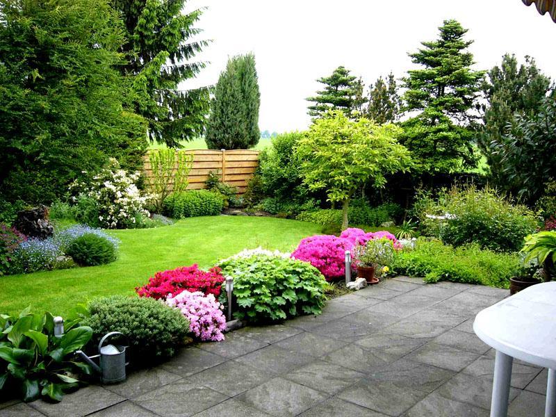Специальный газон позволяет оформить придомовую территорию