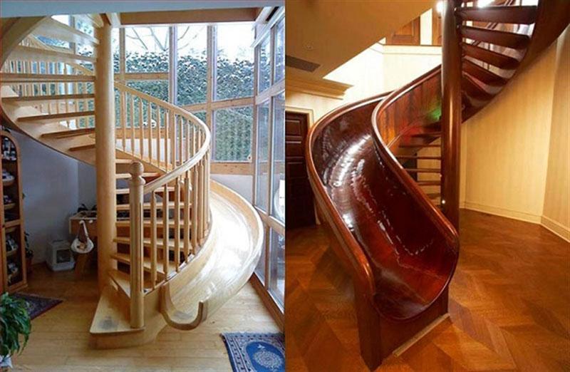 Бывают и такие необычные конструкции – дети будут довольны