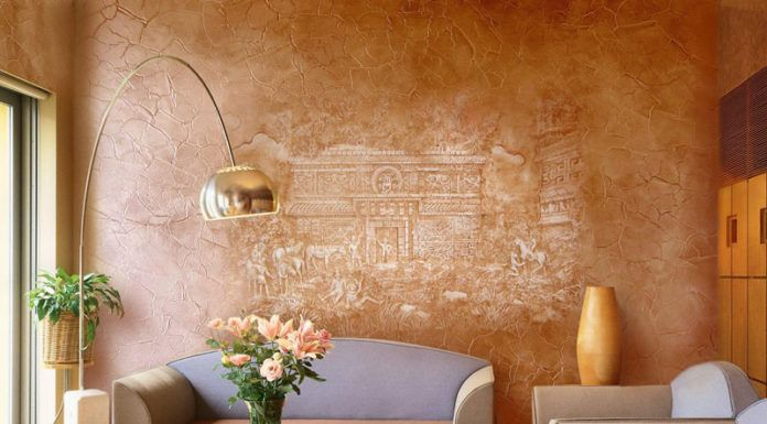 Венецианская штукатурка: фото удивительных решений из простого материала