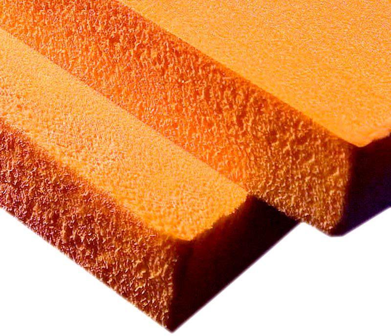При изготовлении этого материала применяют давление с повышением температуры, что обеспечивает равномерность структуры