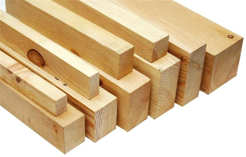 Обрезной брус востребован в строительной отрасли