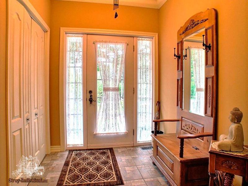 Дизайн прихожей в частном доме: фото