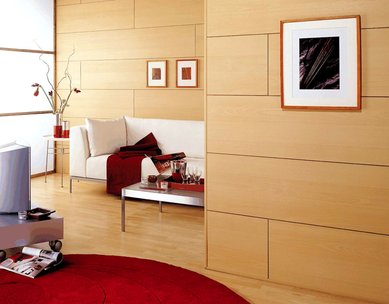Даже при помощи такого доступного по стоимости материала можно создать оригинальный и стильный дизайн помещения