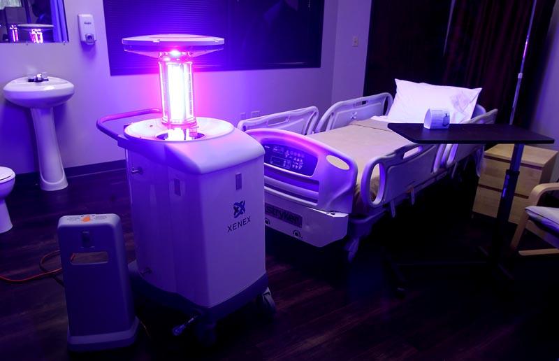 Ультрафиолетовые лампы для больниц