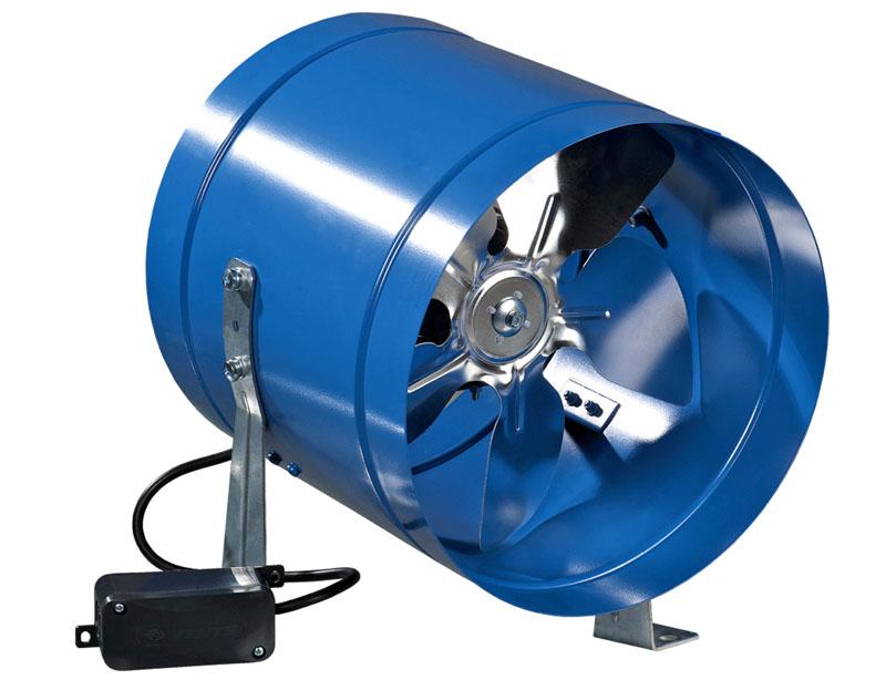 Канальный вентилятор с высоким уровнем шума