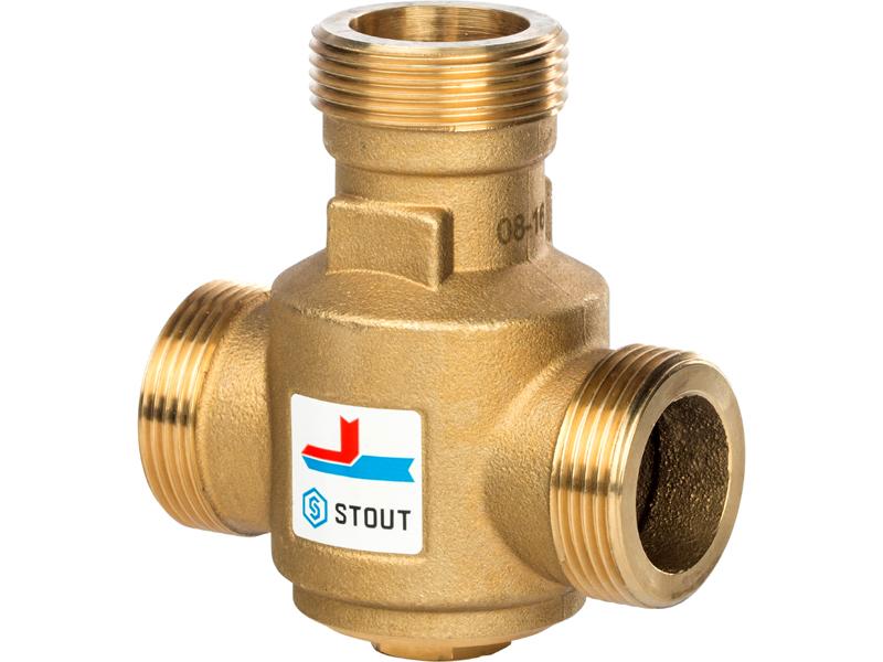 На такой клапан можно самостоятельно установить термостат и систему управления