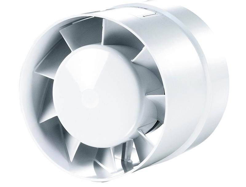 Канальный вентилятор, который вставляется в стену