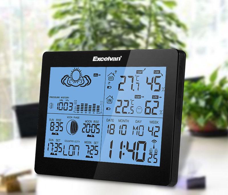 Многофункциональная метеорологическая станция для дома