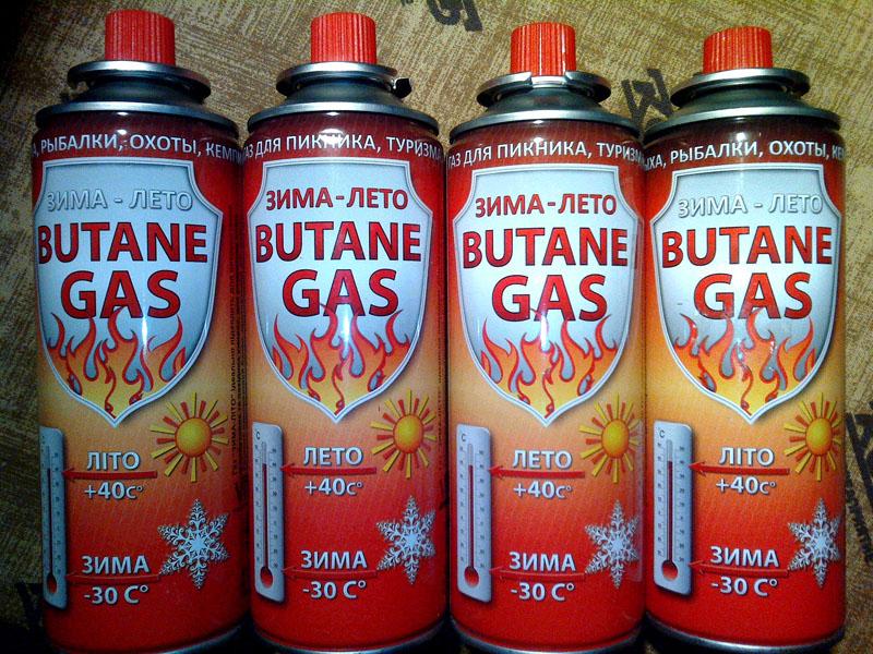 Туристические газовые баллончики могут быть наполнены смесью, хорошо выдерживающей пониженные температуры. Обычно такие данные содержатся на упаковке