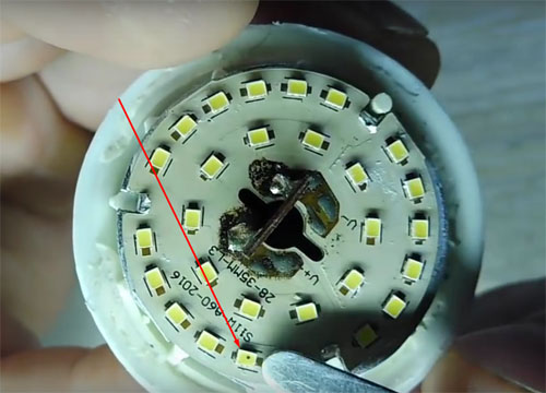 Экономим на замене: ремонт светодиодных ламп своими руками