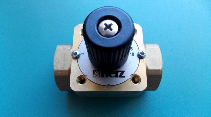 Трехходовой клапан для отопления с терморегулятором: схема