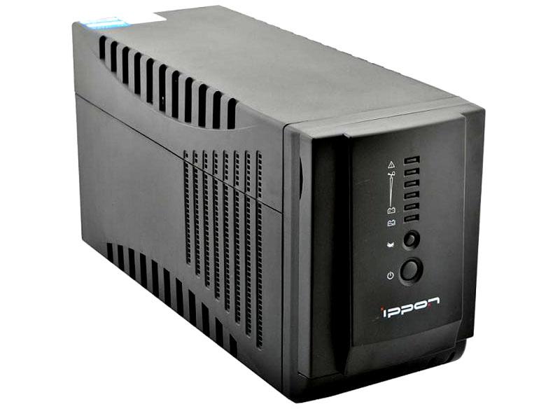 Ippon Smart Power Pro 1000 – при подключении батареи уровень создаваемого шума возрастает