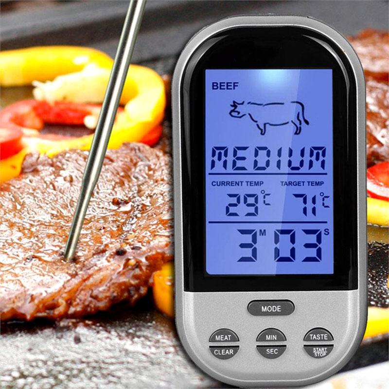 Измеритель температуры электронный с щупом