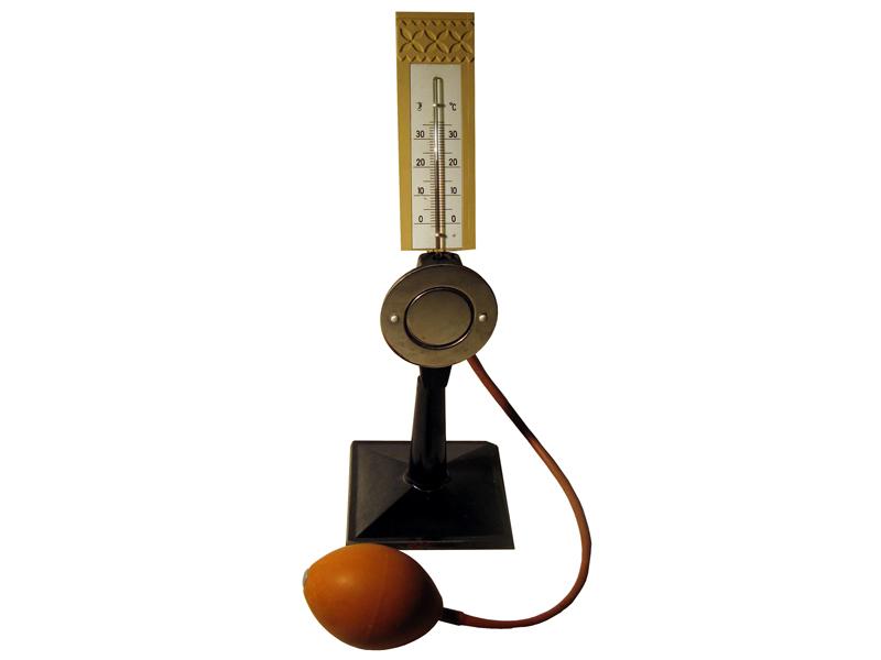 Конденсационный гигрометр Ламбрехта (вариант для школьной физической лаборатории)