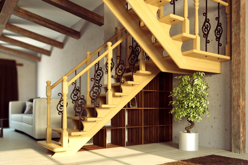 Расчет деревянные лестницы на второй этаж своими руками фото 79
