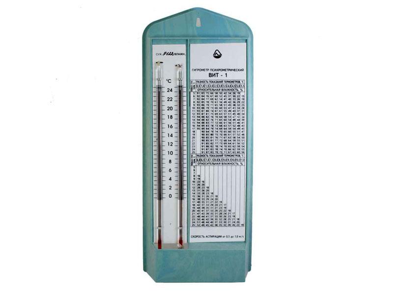 Психометр модель ВИТ1 с таблицей значений