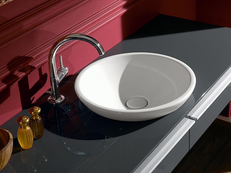 Раковина для ванной круглой формы