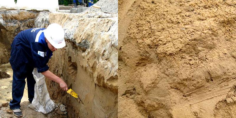 Лучший грунт под строительство дома - песчаный
