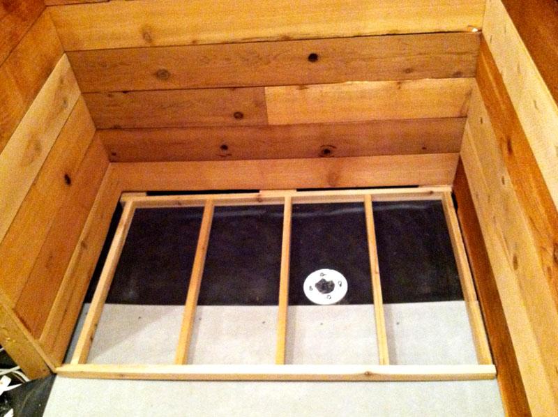 Полы в бане требуют особого подхода – их тоже нужно утеплять