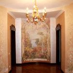 Декоративная штукатурка: фото в интерьере, виды, особенности