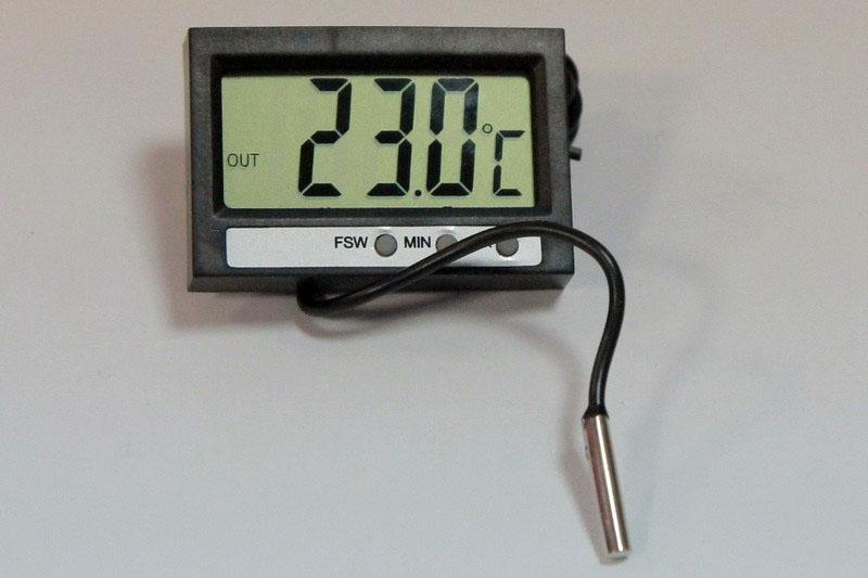 Термометр с датчиком ТМ2 в металлическом корпусе