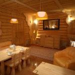 Фото отделки бани внутри: лучшие работы домашних мастеров
