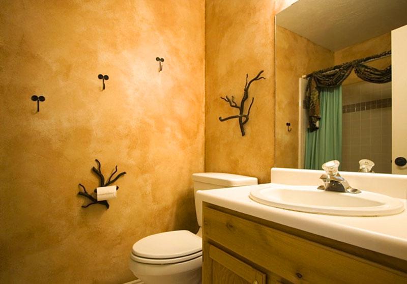 «Венецианка» в ванной смотрится удивительно