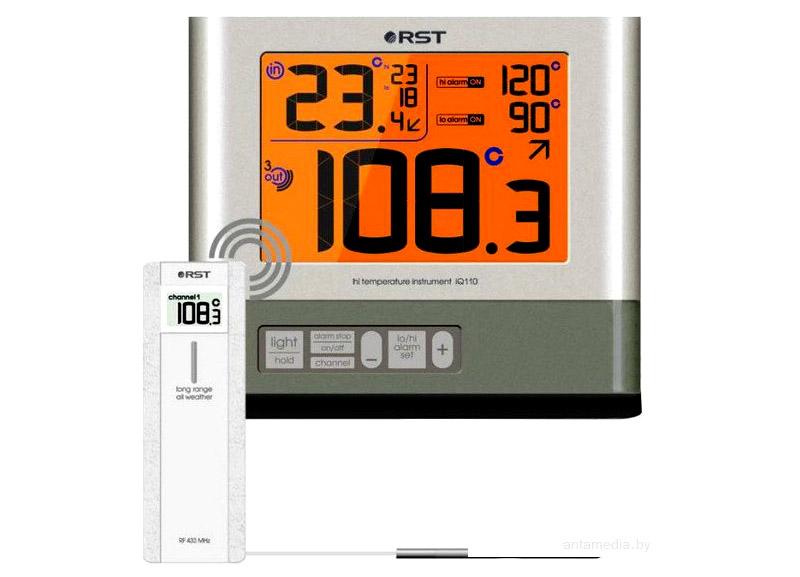 Термометр с выносным датчиком для бани