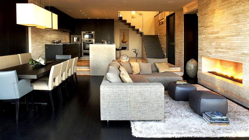 Не забывайте, что мебель можно использовать для зонирования