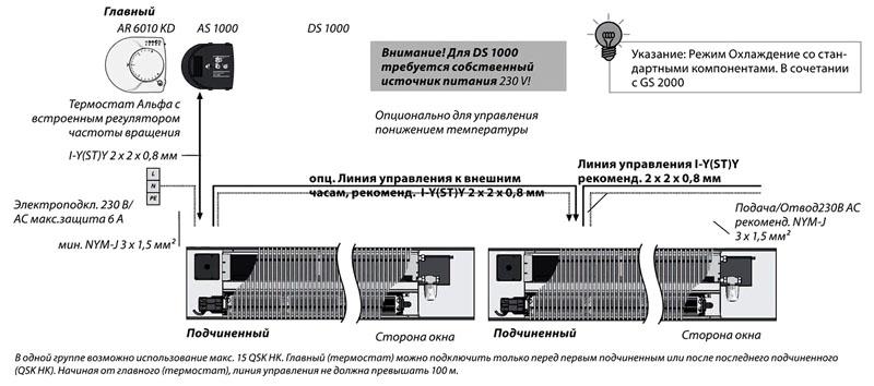 Схема подключения и дополнительные компоненты набора