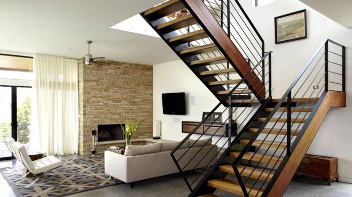 Лестницы на второй этаж в частном доме своими руками: схема, фото